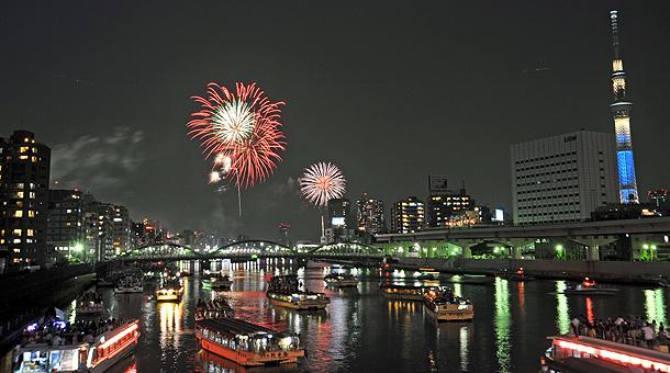 隅田川 花火 大会 天気